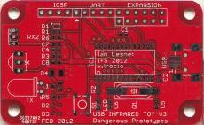 USB IR Toy v3 PCB