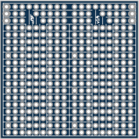 Double sided breadboard