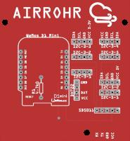 Airrohr sensor PCB
