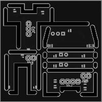 Light PCB for BR81, V36, V180, V130 Scale TT 1:120
